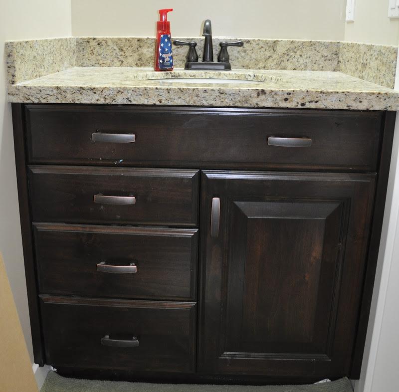Half Bath Vanity Cabinet
