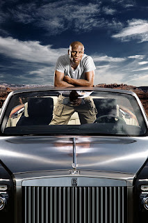 Mayweather with Rolls Royce