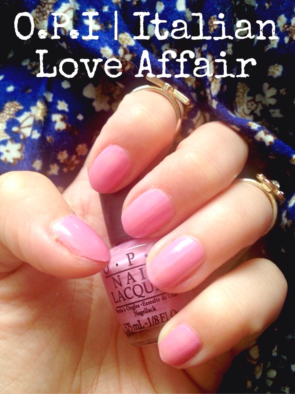 Inspire Magazine Online - UK Fashion, Beauty & Lifestyle blog | Nails Of The Week // O.P.I 'Italian love Affair'; Inspire Magazine; Inspire Magazine Online; NOTW; Nails Of The Week; O.P.I; O.P.I Nail Varnish; Italian Love Affair; Italian Love Affair by O.P.I