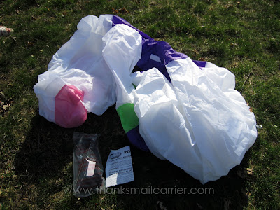 Gemmy Airblown Inflatable Easter Bunny pieces