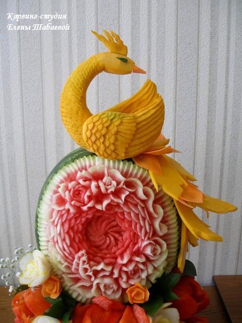 фруктовые композиции и фигурная нарезка фруктов южно-сахалинск