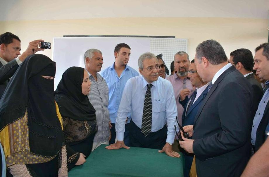 تفاصيل - زيارة وزير التربية والتعليم لمحافظة المنيا والتأكيد على أهمية دور المعلم