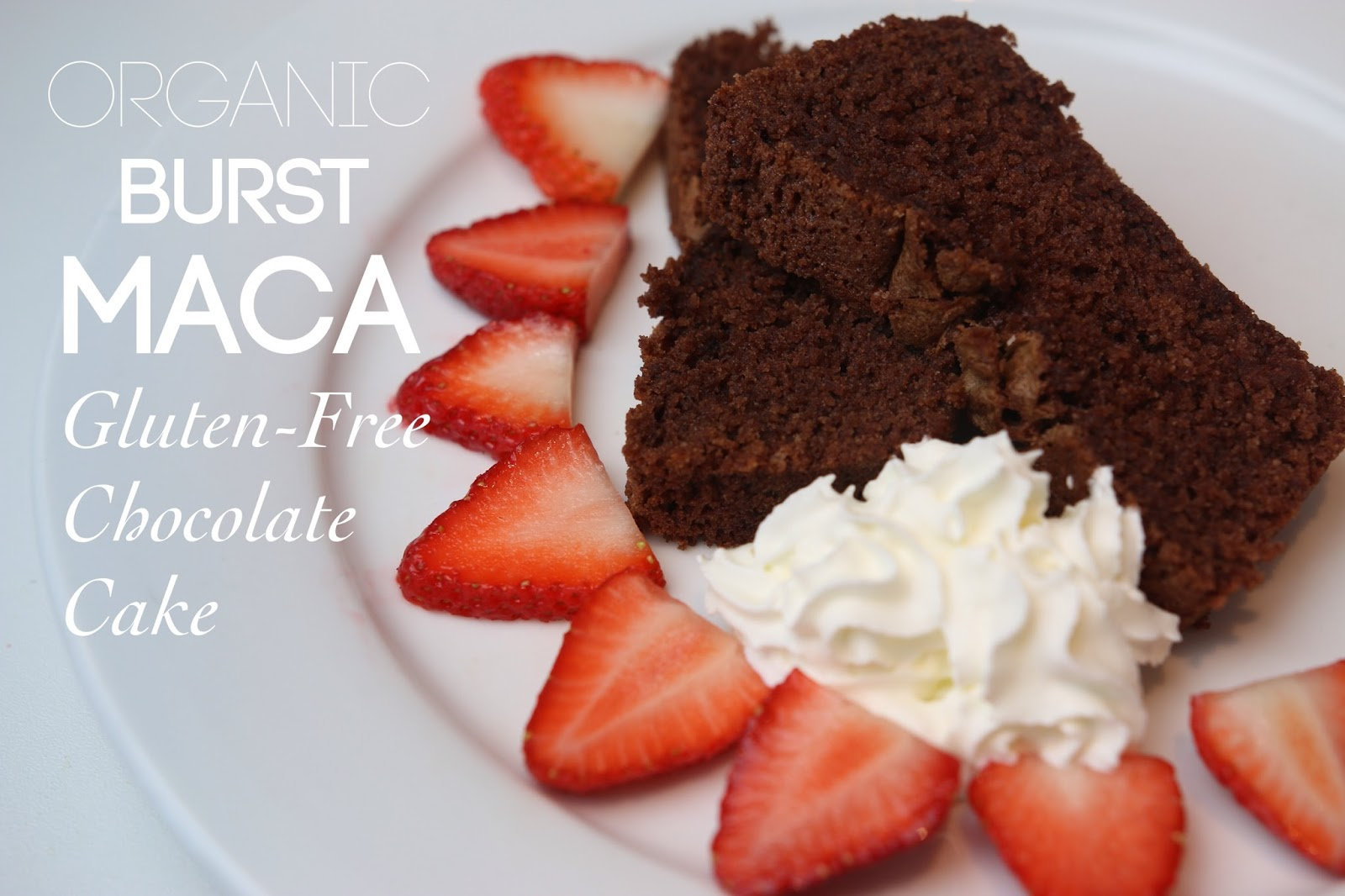 Gluten-free Chocolate Cake with Maca