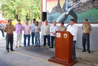 Prefeito Arlei ressalta que a unidade é um antigo sonho dos moradores da região e que a viatura, única no Brasil, vai ajudar no atendimento à população