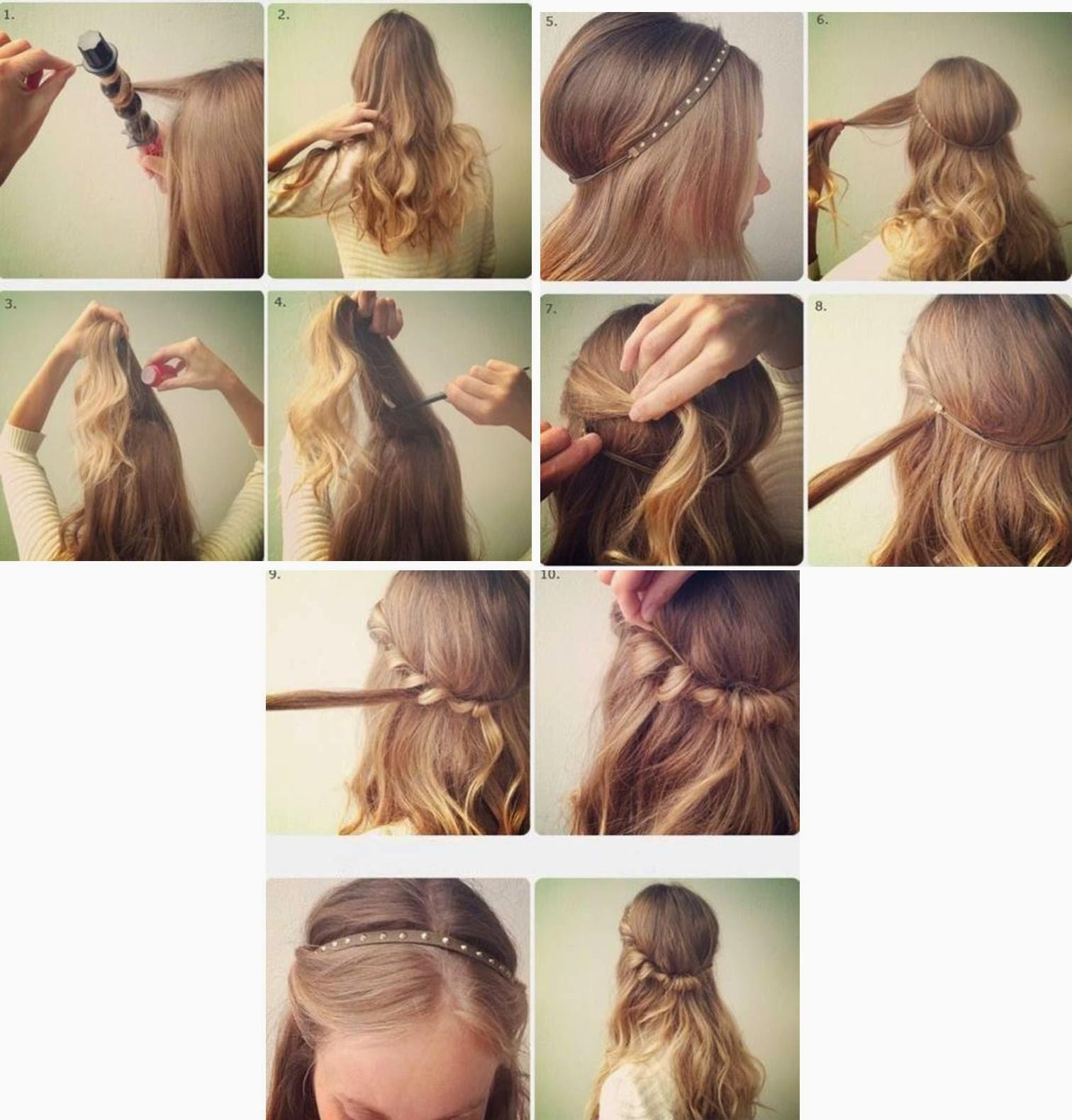 3 Peinados Faciles y Rapidos para extensiones y cabello natural  - Peinados Para Extensiones Largas