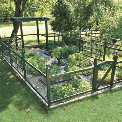 Laura Vanderbeek: Gorgeous Vegetable Garden Idea