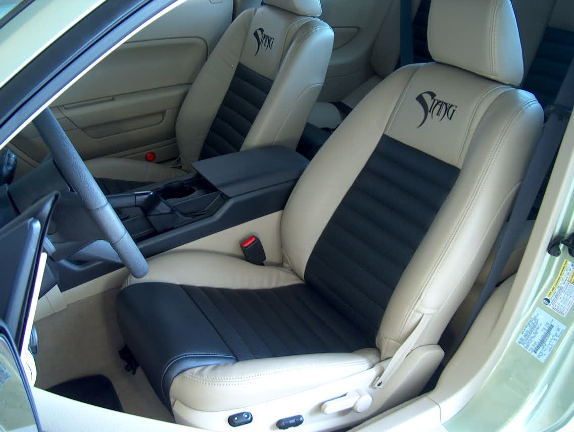 New Dream Cars Mustang Seats