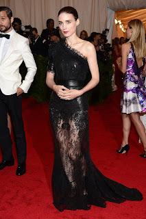Rooney Mara in Met Gala 2012