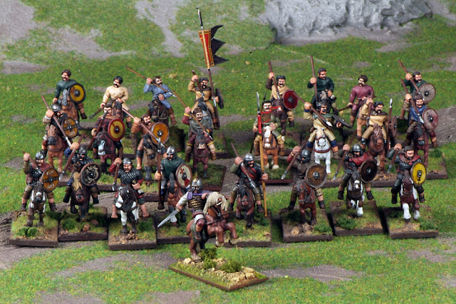 Gripping Beast Strathclyde 4 point Saga starter army