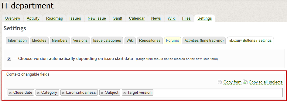 redmine plugin luxury buttons settings