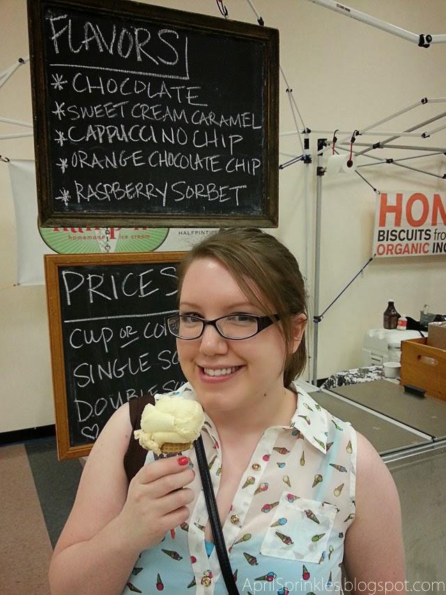 Urban Craft Uprising Artist showcase: Half Pint Ice Cream