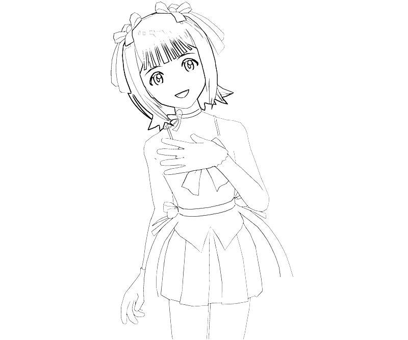 printable-idolmaster-haruka-amami-friendly-coloring-pages
