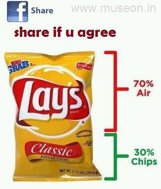 Good Morning Jokes: Truth About Lays
