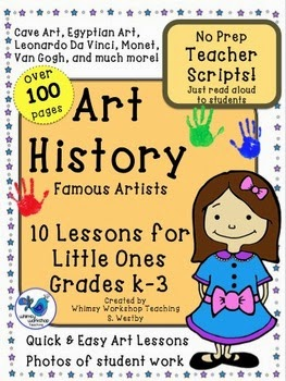 No Prep Art History for Little Ones