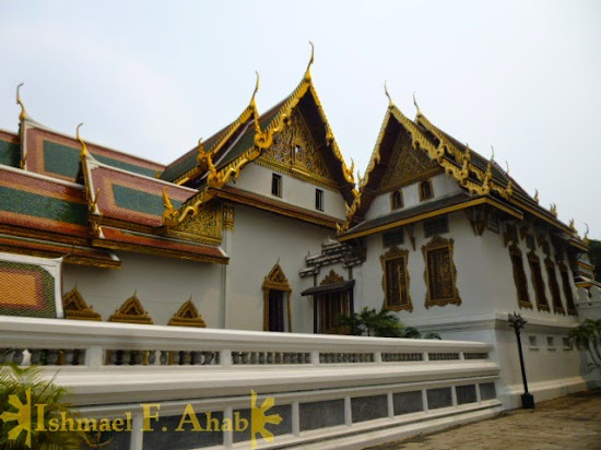 Phra Thinang Amarin Winitchai in Bangkok Grand Palace
