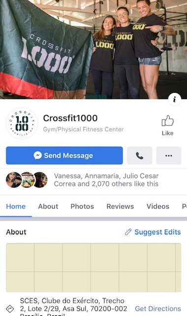 Facebook CrossFit1000