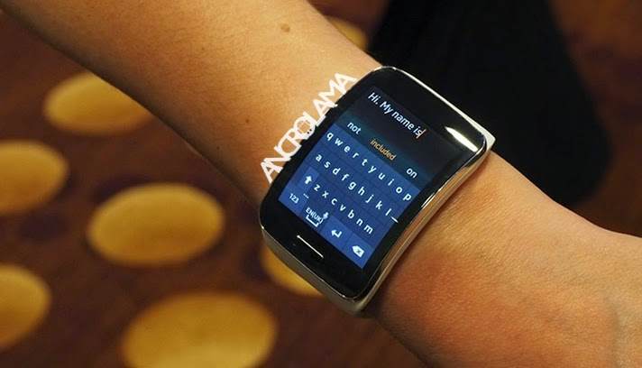 Samsung Gear S Duyuruldu