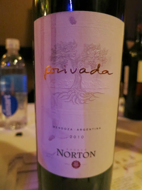 Wine Review of 2010 Norton Privada from Mendoza, Argentina
