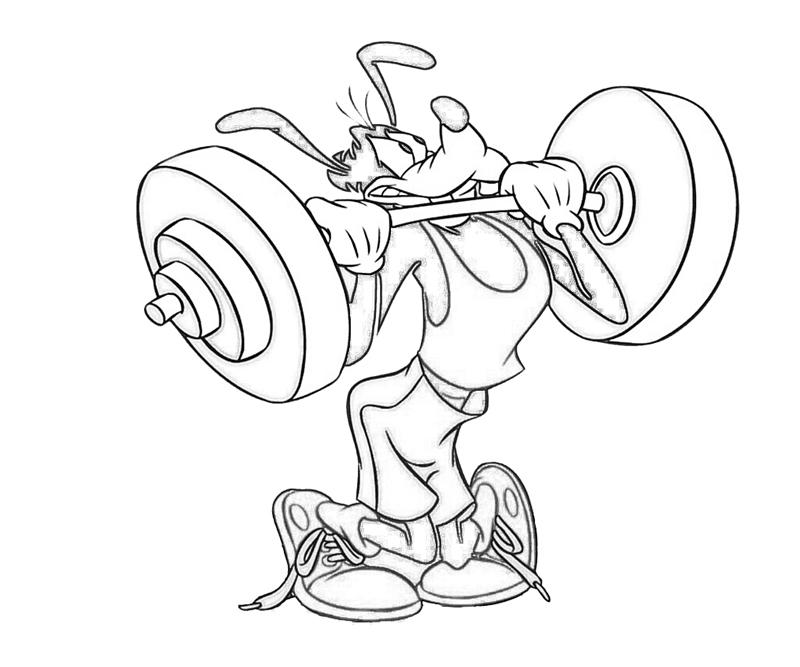 max-goof-power-coloring-pages