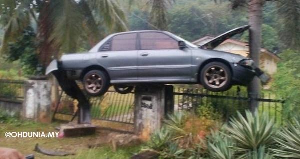 Kereta Terbang di Baling, Kedah.. Bagaimana Boleh Jadi Begini?..
