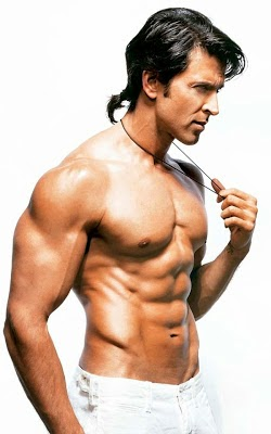 Hrithik Roshan Shirtless Pics, Hrithik Roshan's Unseen eight-Pack Abs body Pics
