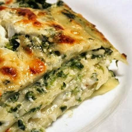 Spinach, Ricotta & Pesto Lasagna   The Best Healthy Recipes