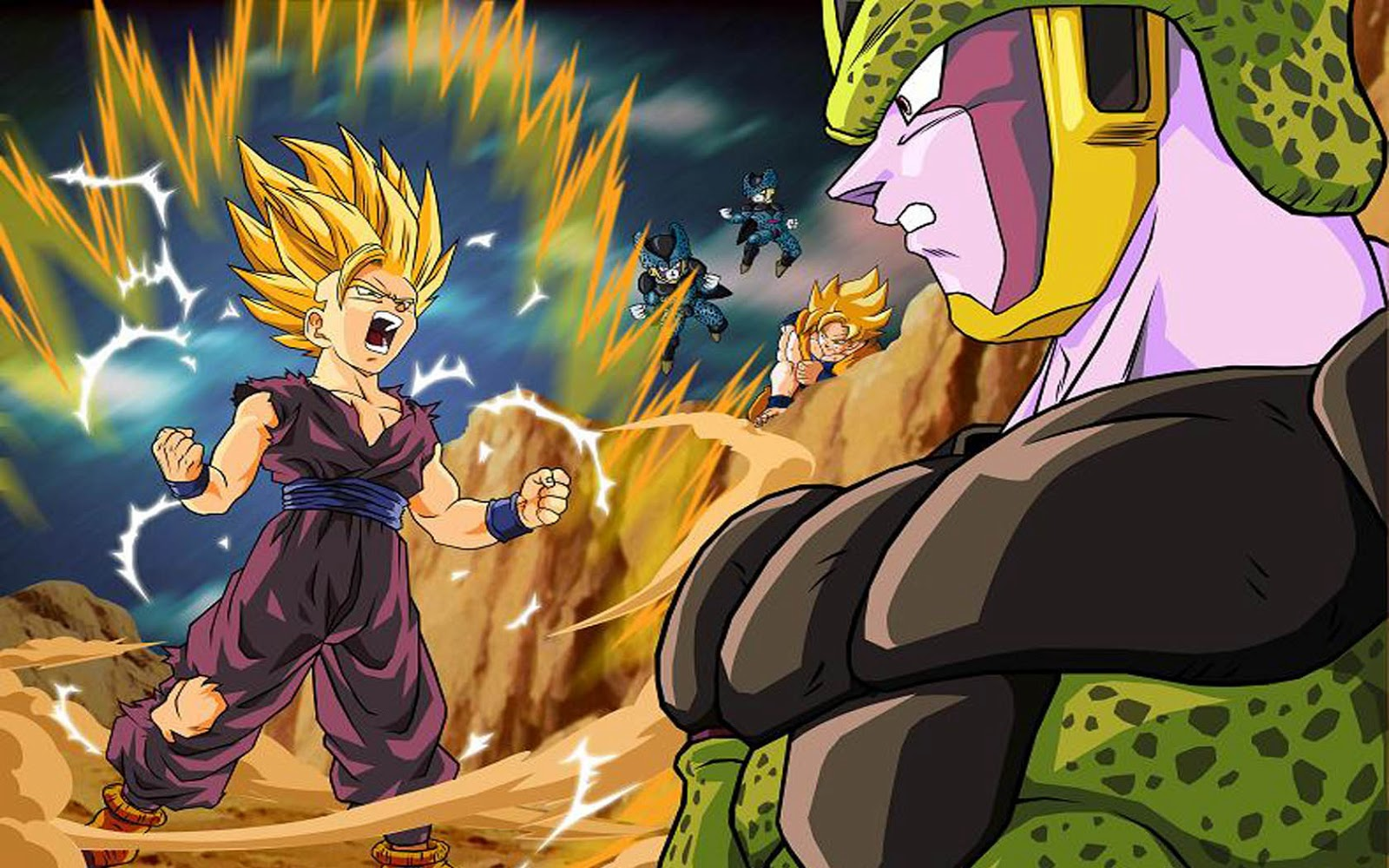 Wallpapers dragon ball z - Dragon ball z gohan images ...