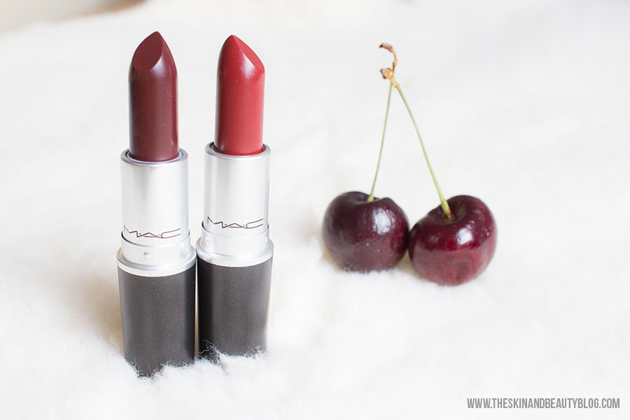 MAC A Novel Romance Lingering Kiss & Hearts Aflame Lipsticks Review & Swatches