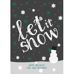 http://www.basicinvite.com/the-let-it-snow-holiday-cards.html