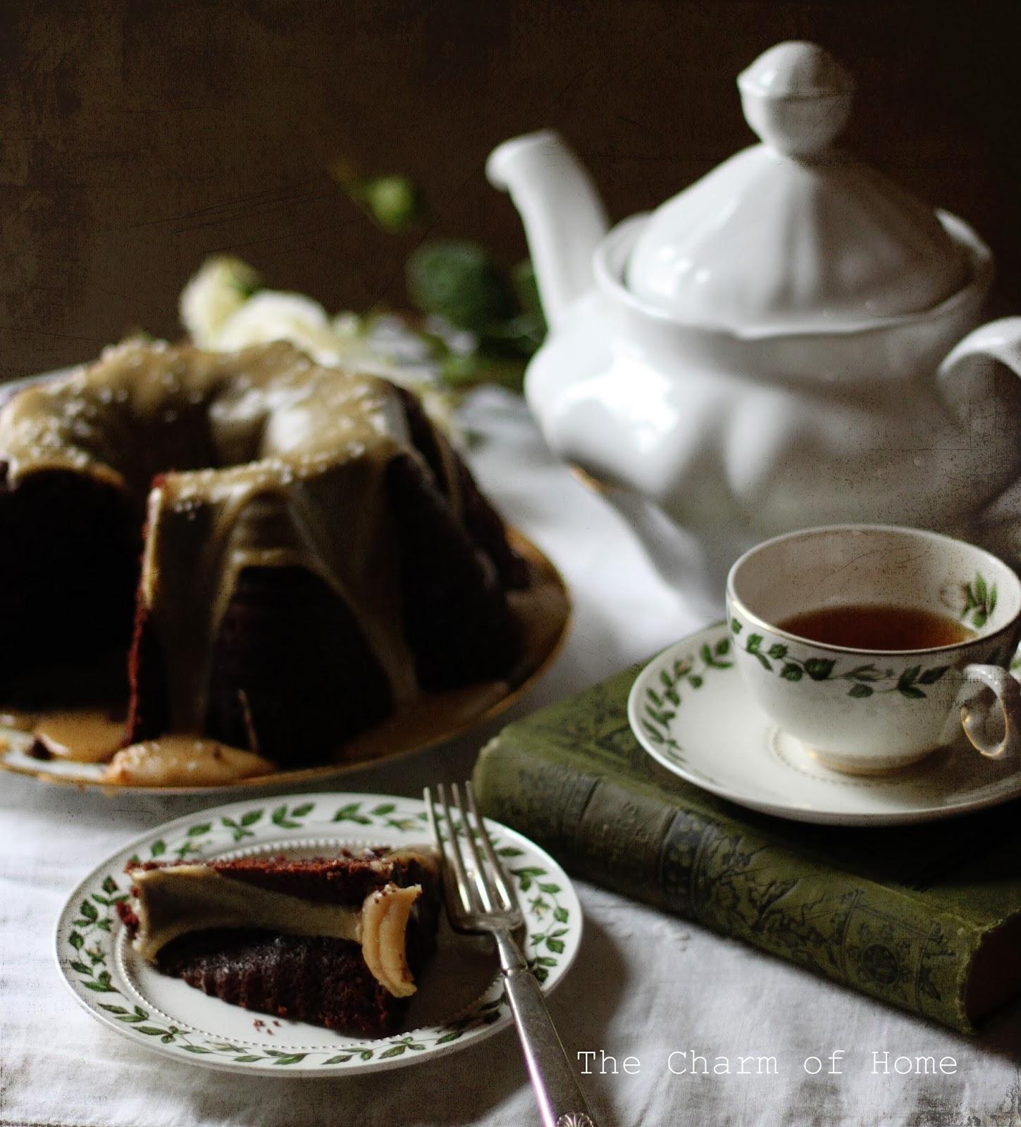 Guinness Cake Tea