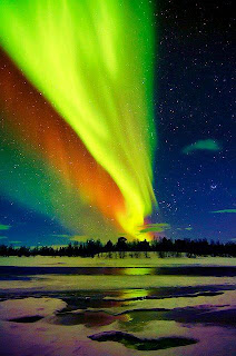 Colorful Pictures Aurora Borealis Color Riot