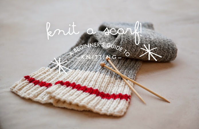 Knit a Scarf! A Beginners Guide to Knitting | Poppytalk