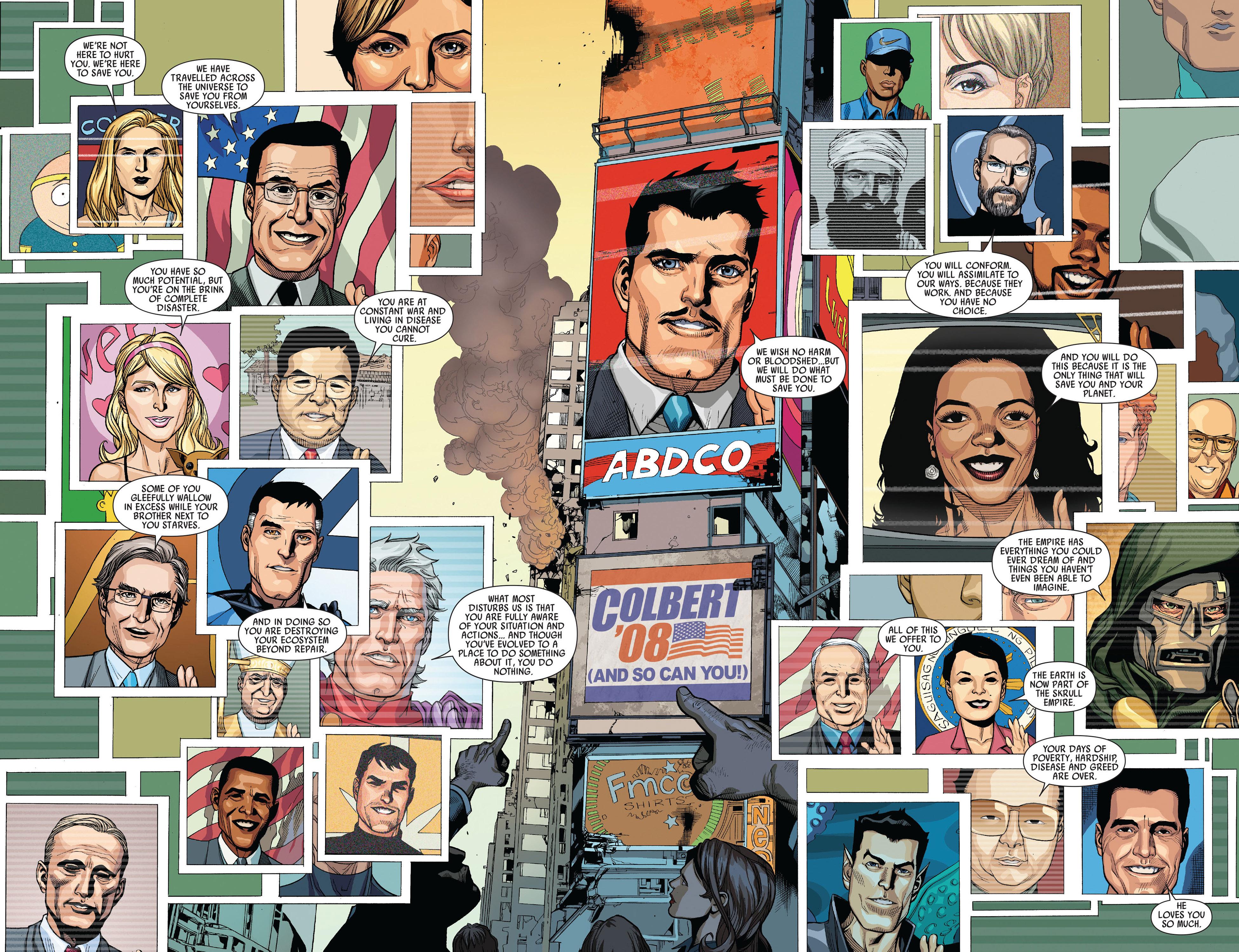 Read online Secret Invasion comic -  Issue #5 - 6