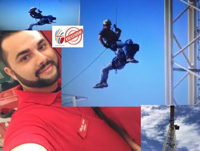 """Bombeiro """"herói"""" das alturas que fez resgate de alto risco em Carcavelos"""