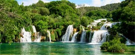 Cascate del Parco Nazionale del Krka in Croazia