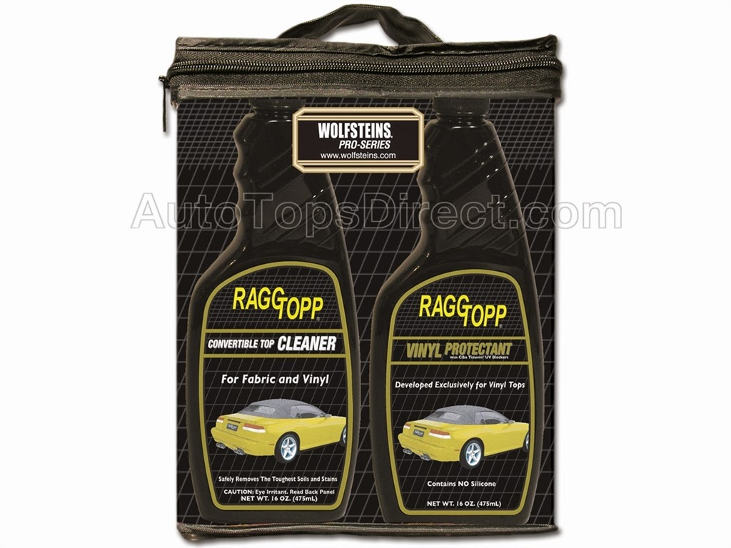 RAGGTOPP Vinyl Cleaner and Proctectant Kit
