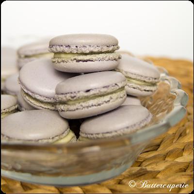 Macarons mit Vanille Ganache