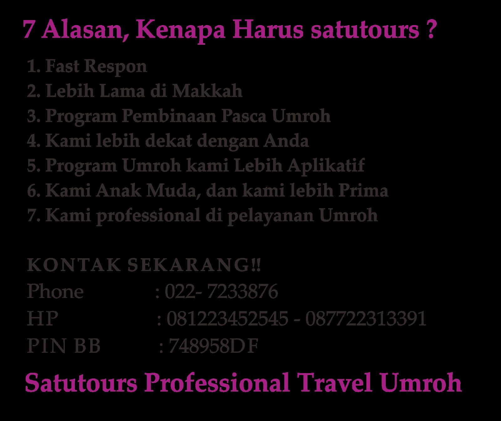 Biro Perjalanan Umroh di Bandung