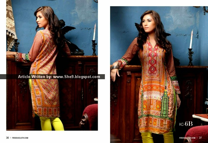 Most Wanted Fashion by Firdous Kurti Collection Volume-2