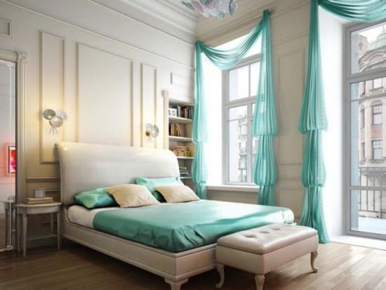 Modern Furniture: Bedroom curtain design ideas 2011