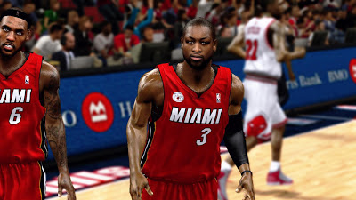 NBA 2K13 Dwyane Wade Playoffs Player Update