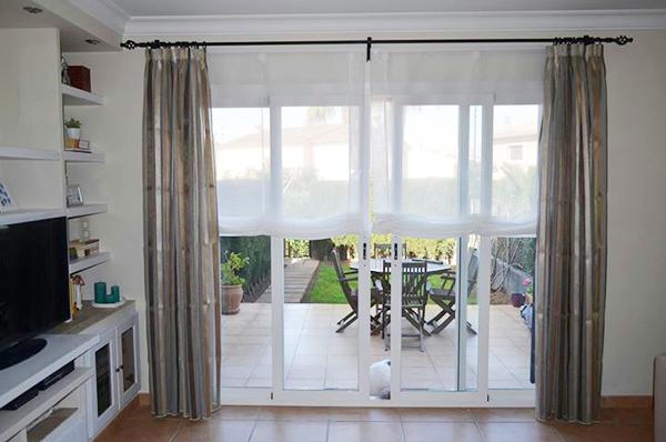 Estores de salon panel japons y cortina para saln salon for Lo ultimo en cortinas y estores