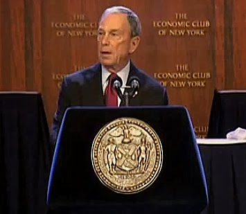 Mayor Bloomberg Warns New Mayor to Be Wary of Unions