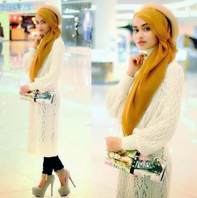 Baju muslim atasan wanita tunik panjang