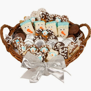 Winter Bakery Gift Basket