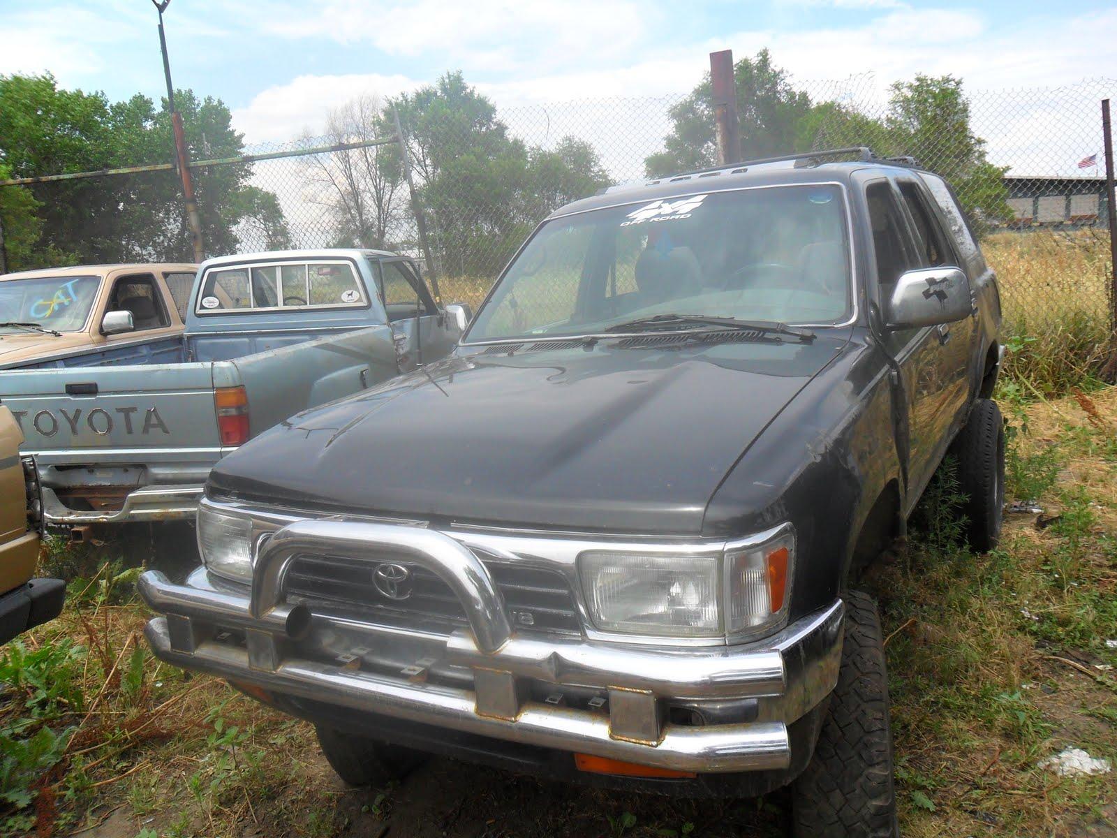 1994 black toyota 4runner 4x4
