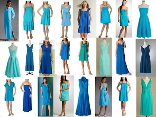 Turquoise and lime green wedding dresses blue bridesmaid dresses