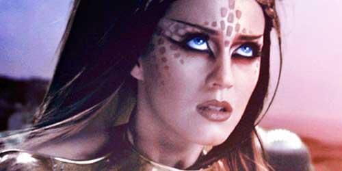 Los maquillajes mas expectaculares de Katy Perry en sus videoclips