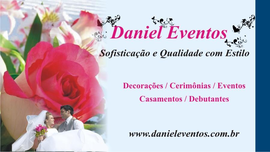 Amado LL Design Gráfico: Cartão de Visita Decoração - Daniel Eventos MD75