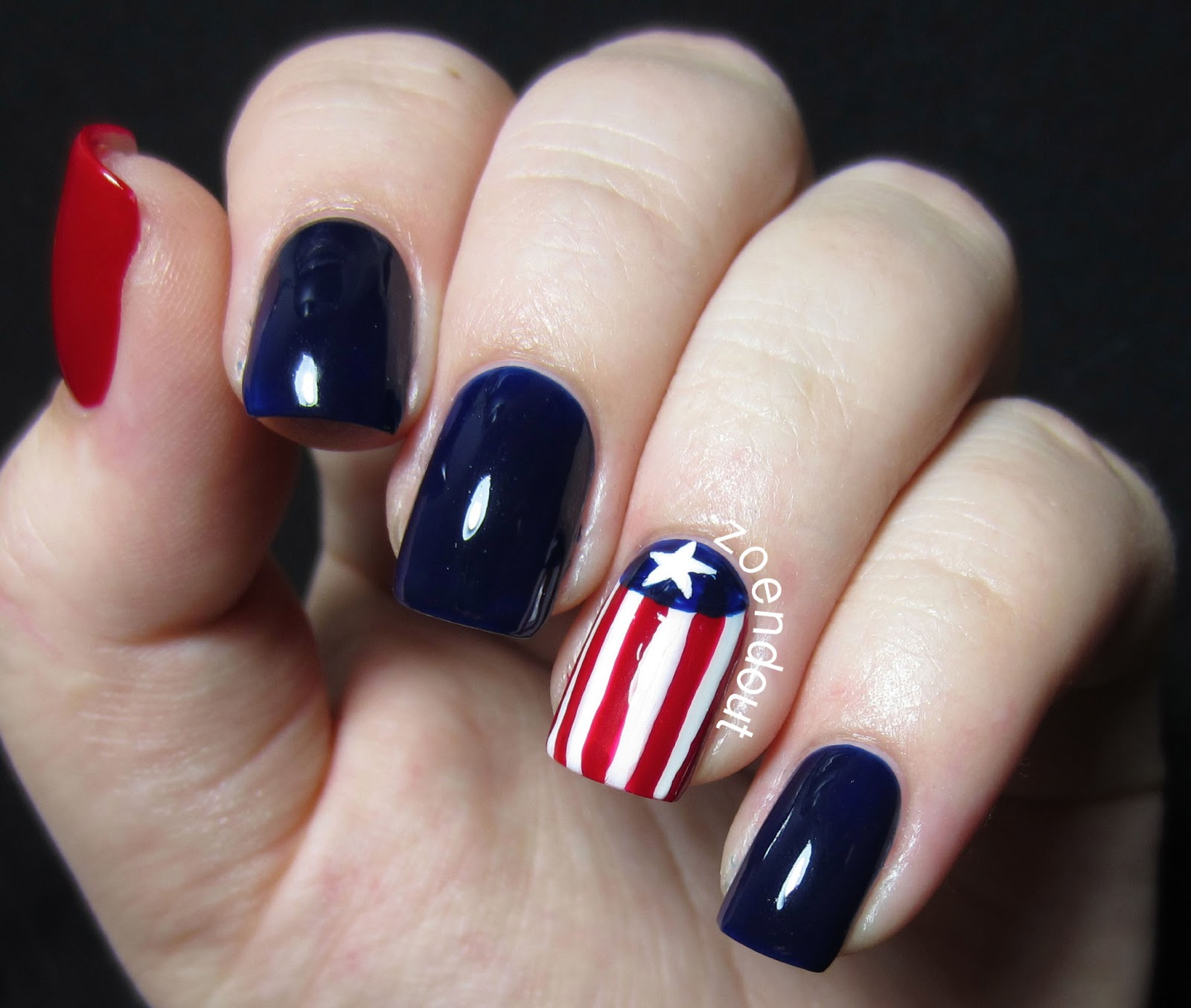 Zoendout Nails 4th Of July Nails